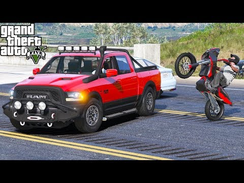 ANOTHER DAY AT WORK #10 | GTA 5 REAL LIFE MOD | NEW TRUCK & MOTORCYCLE | DRAG RACING & OFF ROADING