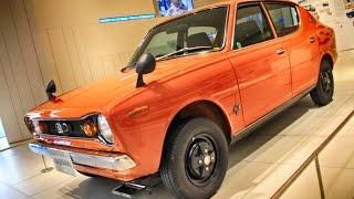 1970 Nissan Cherry X1 Orange   日産 チェリー X1 4ドアセダン(初代 E10型)