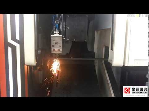 Golden Laser | 700W pipe laser cutting machine with floating support unloading