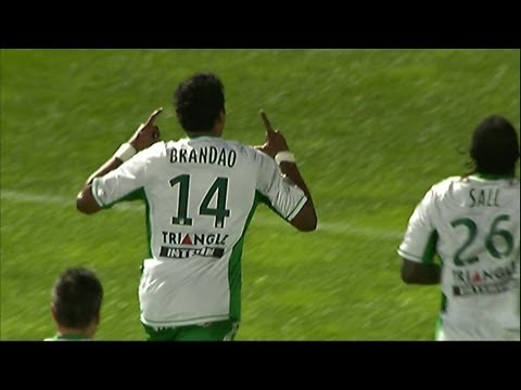 But BRANDAO (75') - OGC Nice - AS Saint-Etienne (1-1 / 2012-13