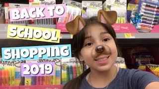 BACK TO SCHOOL SHOPPING WALMART 2019