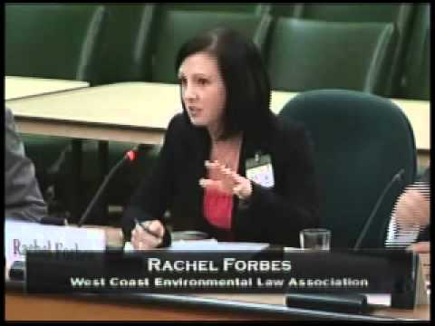 Rachel Forbes of West Coast Environmental Law on Bill C-38