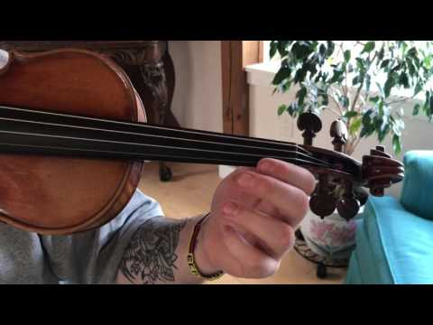 How to play Game of Thrones theme song on Violin  Beginners Tutorial