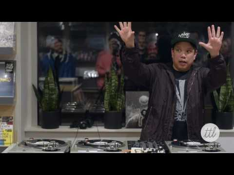 Kid Koala at New Turntable Lab Storefront - Yo Gabba Gabba Routine (Pt.2/3)