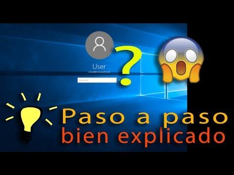 Como entrar en Windows (10, 8, 8.1, 7) sin...