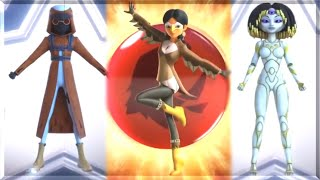 All new transformations from Miraculous Ladybug New York Special