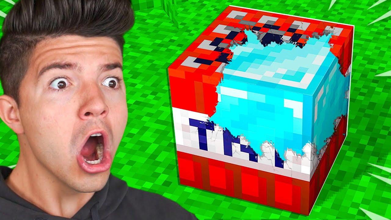 Minecraft but TNT Drops OP Items...