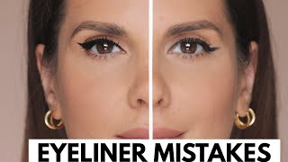 EYELINER MISTAKES AND HOW TO CORRECT THEM | ALI ANDREEA