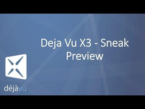 Deja Vu X3 - Sneak Preview - Live Webinar Presentation