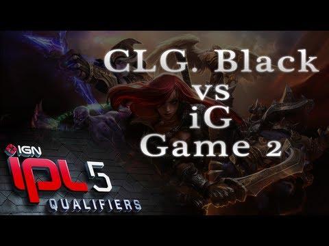 CLG.Black vs iG - Game 2 - IPL5