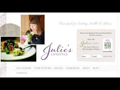 JuliesLifestyle.com, Julie Van den Kerchove - Interview
