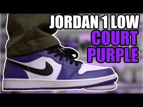 AIR JORDAN 1 LOW COURT PURPLE 2020 REVIEW + ON FEET & RESELL PREDICTIONS