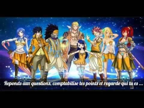 Test  Quel personnage de Fairytail estu ?