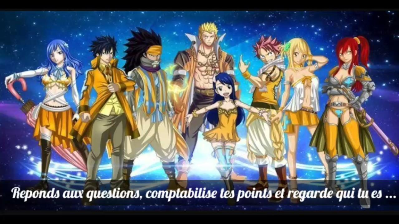 Quel Personnage De Fairytail Es-tu ?