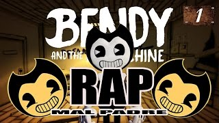 BENDY AND THE INK MACHINE- RAP TRISTE (MAL PADRE) (BAD FATHER) parte 1