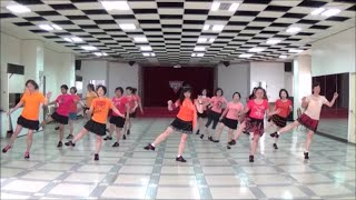 No Self Control ! - line dance (demo & walk through) = 失控 - 排舞(含導跳)
