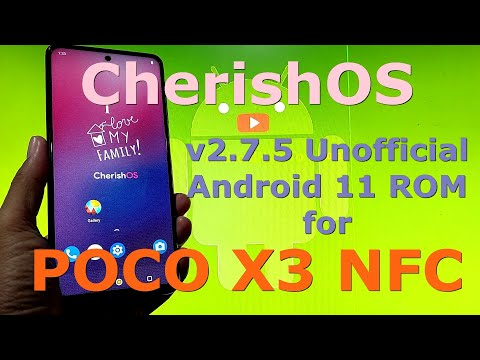 CherishOS v2.7.5 for Poco X3 NFC (Surya) Android 11