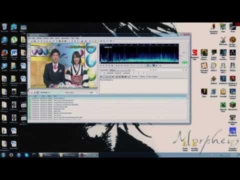 Aegisub tutorial - Timing Subtitles - FAST METHOD
