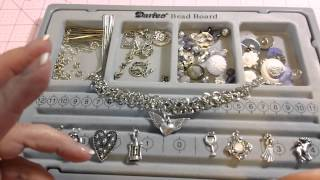 Charm Bracelet Tutorial #2 - Charms, jump rings, split rings