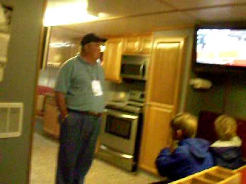 A Walk through tour of a modern Scalloper Fishing Vessel Alaska out of New Bedford MA