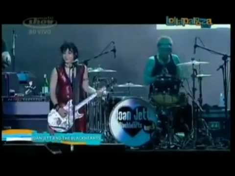 Joan Jett - Crimson and Clover @ Lollapalooza Brasil