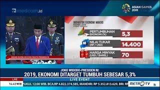 Pidato Pengantar Nota Keuangan 2019 Oleh Presiden Jokowi Tentang Ekonomi 2019