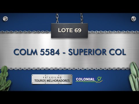 LOTE 69   COLM 5584