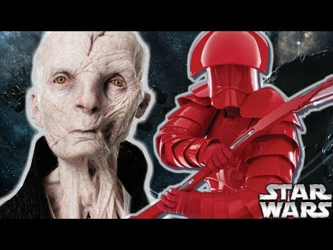 Why Snoke Wanted His Guards In Constant Pain - Star Wars The Last Jedi Explained