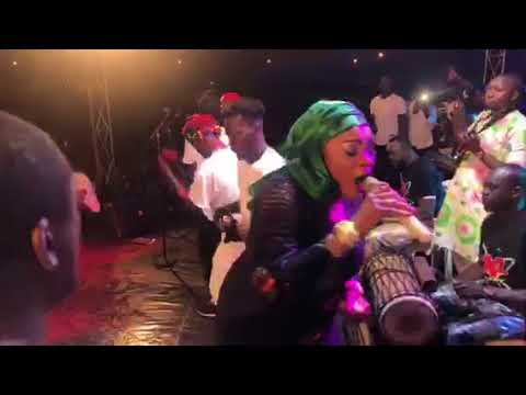 AFFOU KEÏTA CONCERT DE TABASKI AU STADE DE BOUAKÉ 2018