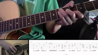 "How to play ""Fireflies"" on guitar like Sungha Jung RE-DONE part three"