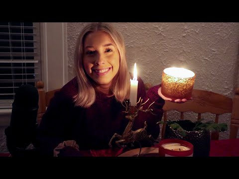 Candle Lit ASMR | 31 Holiday Trivia Questions