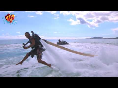 Jet Pack Adventure above Maunalua Bay - Video