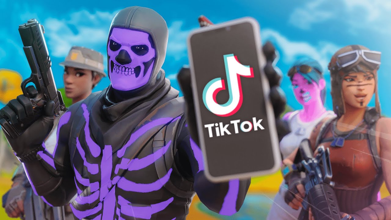 I Started A Rare Skin Only Fortnite Clan On Tik Tok Youtube