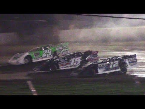 RUSH Crate Late Model Heat Three | Eriez Speedway | 9-22-17