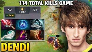 Dendi Queen of Pain - 114 TOTAL KILLS GAME !