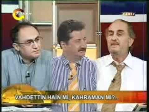 (4/8) Sultan Vahideddin Hain Değildir ! Laik profesöre canlı yayında ayar