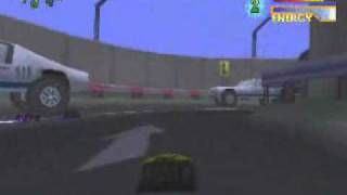 Tyco RC Assault with a Battery PS1.wmv
