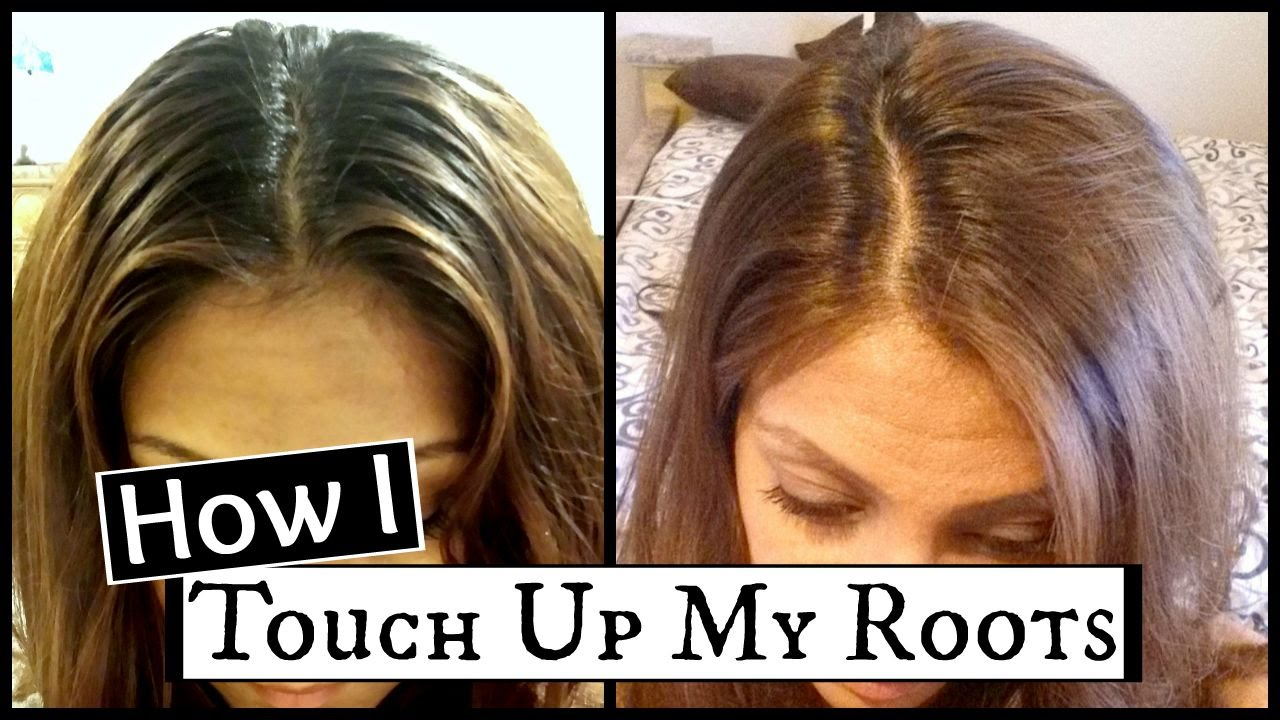 How To Touch Up Dark Roots At Home │How I Dye My Hair Light Ash ...