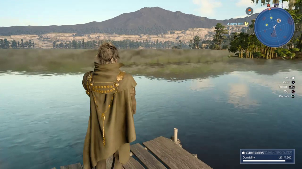 Final fantasy xv all 5 locations for fishing vesperpool for Final fantasy 15 fishing