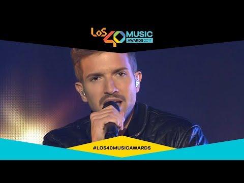 Pablo Alborán canta 'Saturno' en directo | LOS40 Music Awards 2017