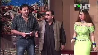 Hassan Murad and Nadia Ali Pakistani Stage Drama Full Comedy Clip 1