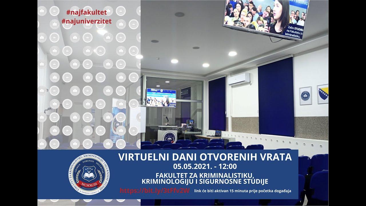 Održani Virtuelni dani otvorenih vrata