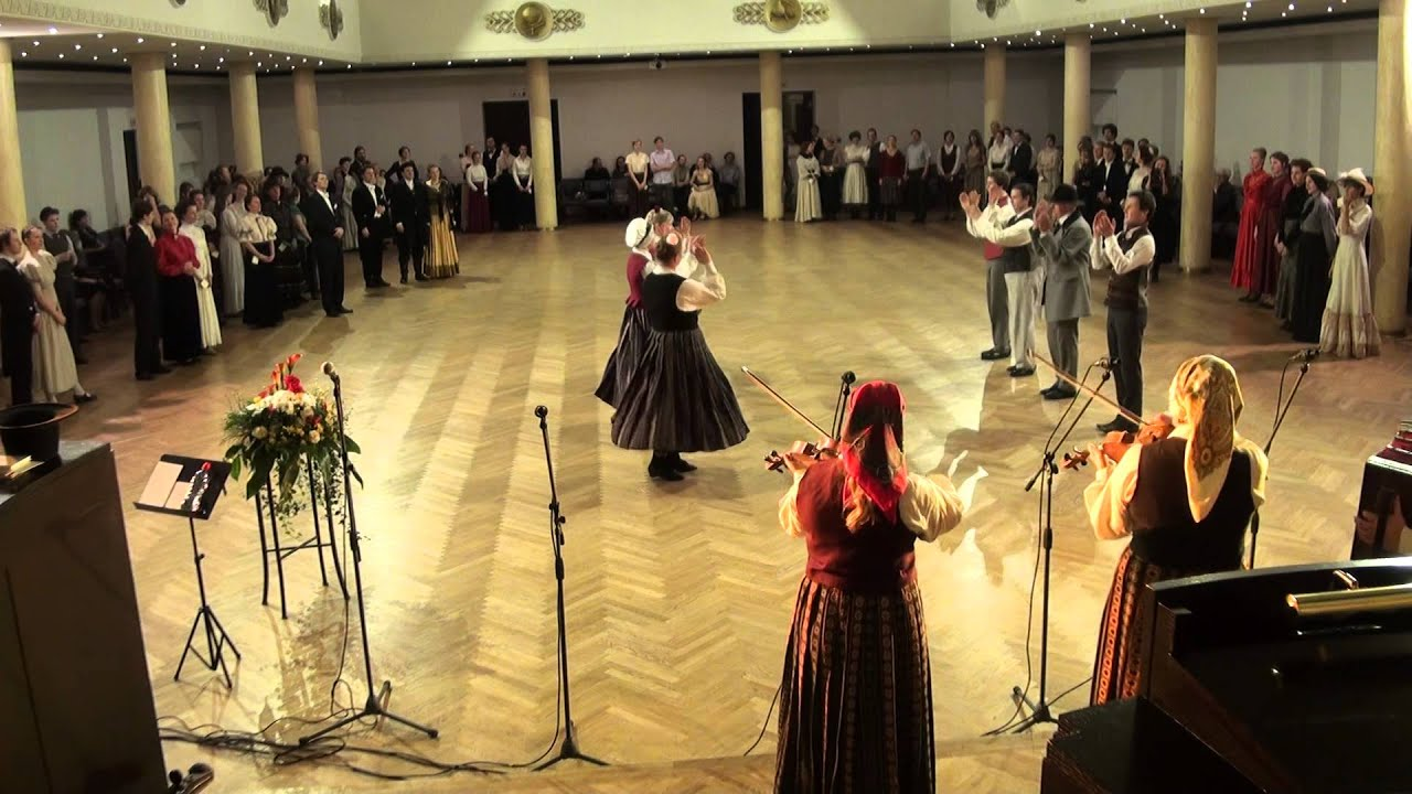 """00024 Folkloras mūzikas un deju kopas DANDARI 35 g. jubilejas  """"kadriļu balle"""""""""""