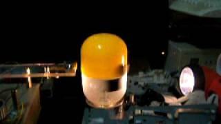 Optical Orbo motor - First run