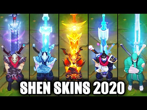 All Shen Skins Spotlight 2020 (League of Legends)