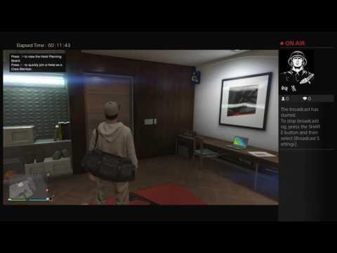 GTA 5 Heist prison break