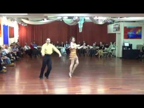 Amazing Samba Dance Cosette And Martin Ballroom Dance At Ballroom Utah