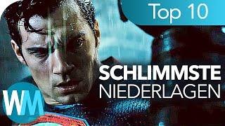 TOP 10 der SCHLIMMSTEN Superhelden - NIEDERLAGEN!