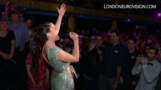 Ruth Lorenzo - Purple Rain (Spain) LIVE at the London Eurovision Party 2014