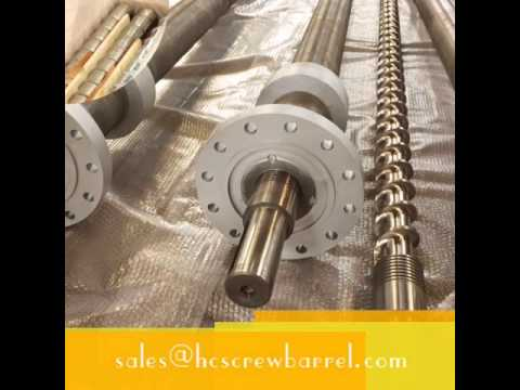 single screw barrel